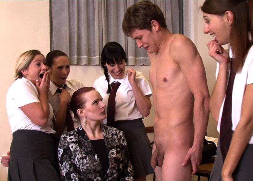 Cfnm public nude naked